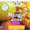 Nectar de mangue José avec pulpe LAW-LAM - bouteille de 1 L