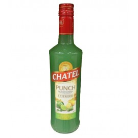 Punch CHATEL - 3 citrons - 70 cl