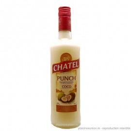 Punch CHATEL - coco - 70 cl