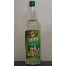 Rhum au gingembre mangue CHATEL 1 L