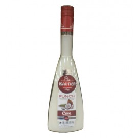 Punch traditionnel coco Isautier - 70 cl
