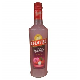 Punch Inédit CHATEL - Letchi Rose - 70 cl