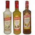 Pack 3 bouteilles Punch chatel 70 cl Coco - Passion - Punch des Iles