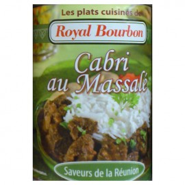 Cabri au massalé Royal Bourbon 350g