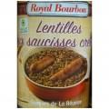 Lentilles saucisses créoles Royal Bourbon 500g