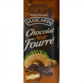 Chocolat noir fourré tamarin Mascarin 100g