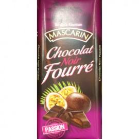 Chocolat noir fourré passion Mascarin 100g