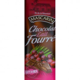 Chocolat lait fourré goyavier Mascarin 100g