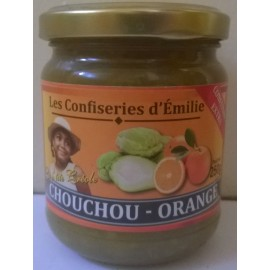Confiture de chouchou orange - bocal de 250 g