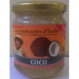 Confiture de coco - bocal de 250 g