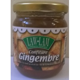 Confiture de gingembre - bocal de 250 g