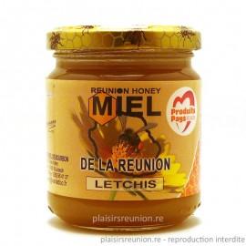 Miel letchis de la Réunion 250g