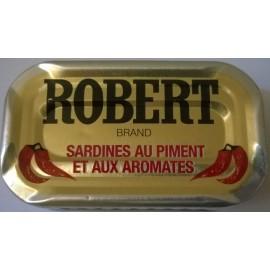 Sardines à l'huile ROBERT au piment