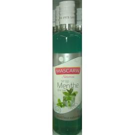 Sirop MASCARIN Sélection parfum menthe 50 cl