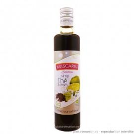 Sirop MASCARIN Sélection parfum thé 3 citrons 50 cl
