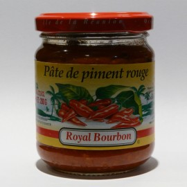 Pâte de piment rouge Royal Bourbon 200g