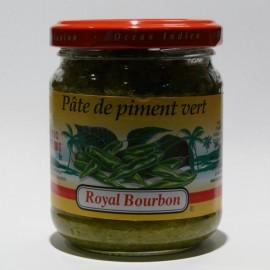 Pâte de piment vert Royal Bourbon 200g