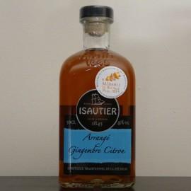 Rhum arrangé Gingembre Citron ISAUTIER - 70 cl