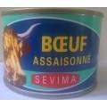 Boeuf assaisonné pimenté Sevima