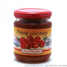 Pâte de piment cabri rouge Royal Bourbon 200g