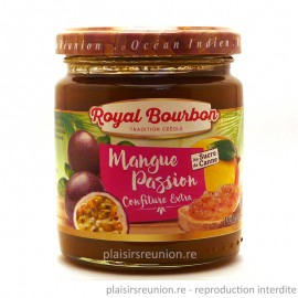Confiture de mangue passion - bocal de 250 g