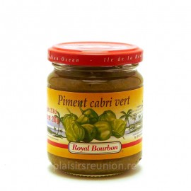 Pâte de piment cabri vert Royal Bourbon 200g