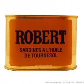 Sardines à l'huile ROBERT 697g