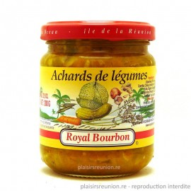 Achards de légumes Royal Bourbon 200g