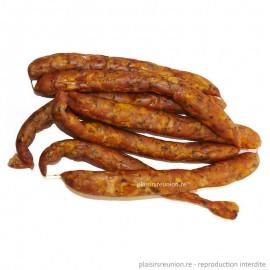 1 Kg de saucisses de poulet fumées artisanales - Charcuterie SOUBADOU