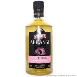 Rhum arrangé Chatel Letchis 70 cl
